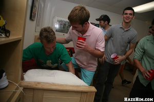 Cool gay birthday party in the college hostel - XXXonXXX - Pic 1