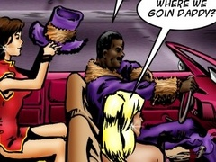 Hot interracial fucking cartoon with cool - Popular Cartoon Porn - Picture 1