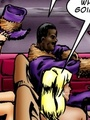 Hot interracial fucking cartoon with - Picture 1