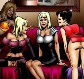 Black Pimp supplies a bunch of cute girls showing…