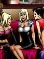 Hot interracial fucking cartoon with - Picture 3