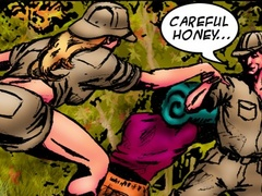 Old black tribe fucks passionately hot blonde - Popular Cartoon Porn - Picture 1