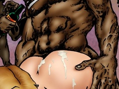 Old black tribe fucks passionately hot blonde - Popular Cartoon Porn - Picture 3