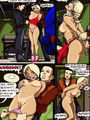 Lustful cartoon bitch gets gangbanged - Picture 10