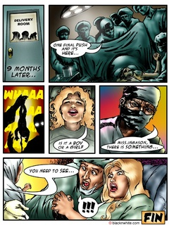 Black toon tribal caught a white dude and - Popular Cartoon Porn - Picture 3