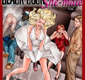 Hot threesome cartoon fucking with a blonde…