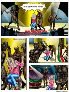 Dirty toon bitch sucking three huge black - Popular Cartoon Porn - Picture 1