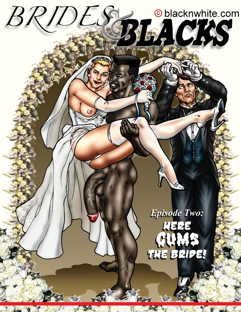 Lustful toon bride is going to fuck with a - Cartoon Sex - Picture 1