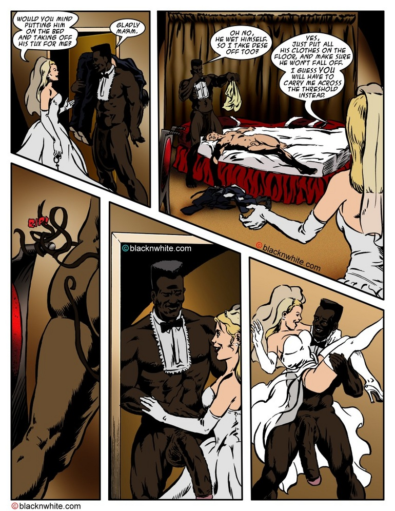 Lustful toon bride is going to fuck with a - Cartoon Sex - Picture 4