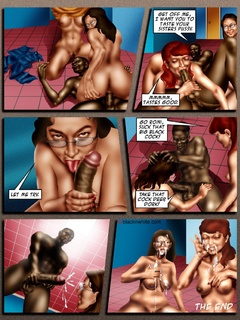 Big black dude with a thick meat fucking hard - Popular Cartoon Porn - Picture 2
