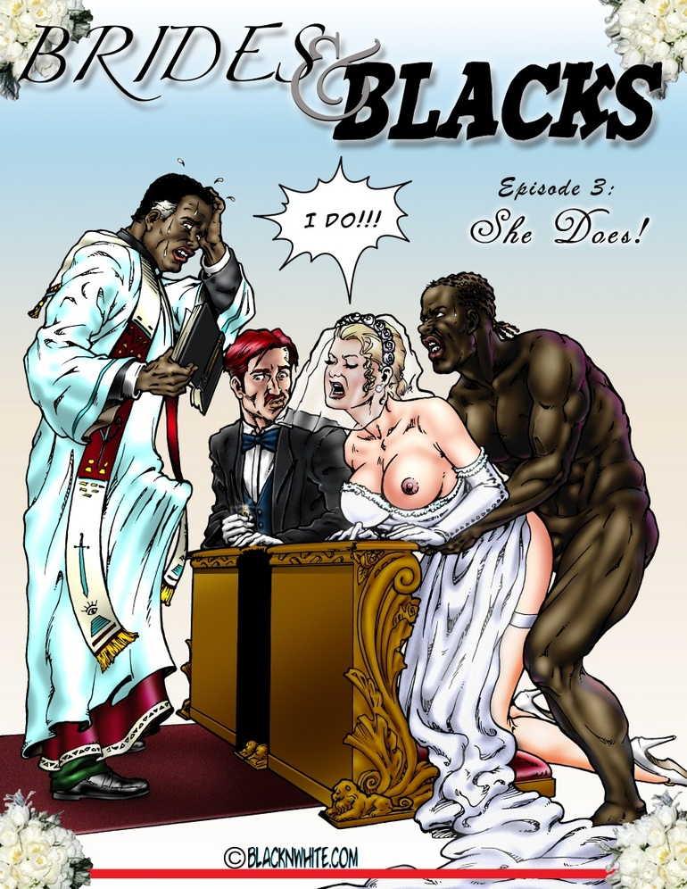 Big black dude fucking with two white sexy - Cartoon Sex - Picture 3