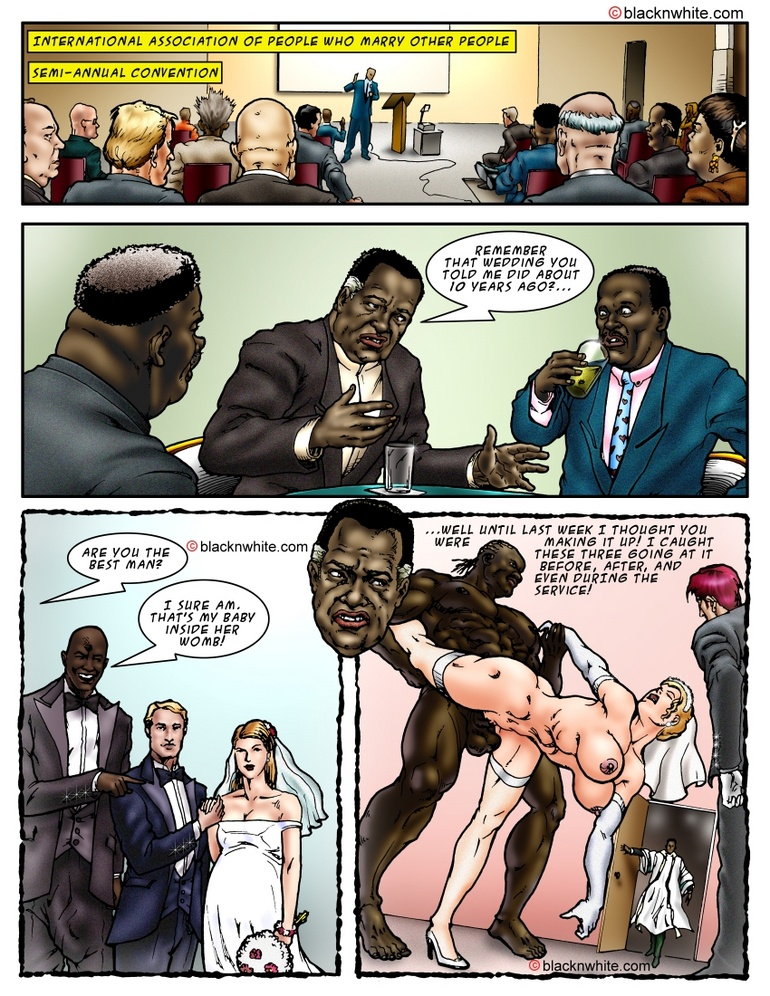 Big black dude fucking with two white sexy - Cartoon Sex - Picture 4