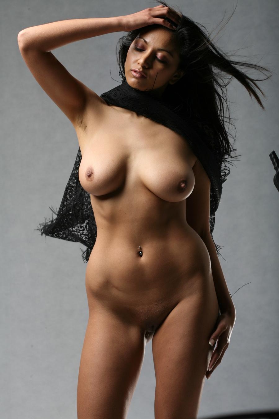 in posing indian nude women