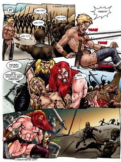 Red toon Viking with long schlong bangs hard - Popular Cartoon Porn - Picture 2