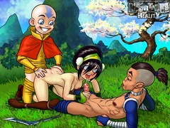 Lustful Toph is always ready to open her hole - Popular Cartoon Porn - Picture 2