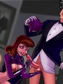 Slutty Batgirl loves fucking with a - Picture 1