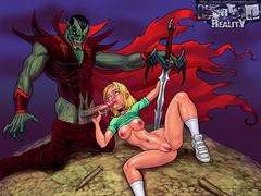 Buffy getting fucked hard by monsters with - Popular Cartoon Porn - Picture 2