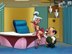 Hot blonde Judy gets horny and spreads her - Popular Cartoon Porn - Picture 1