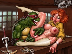 Teenage Mutant Ninja Turtles adore fucking - Popular Cartoon Porn - Picture 1