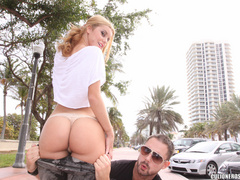 Blonde bitch inverts her snatch and asshole - XXX Dessert - Picture 3
