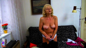 It's just one moment of being a lucky girl and refined mature milf at one shot. - XXXonXXX - Pic 1