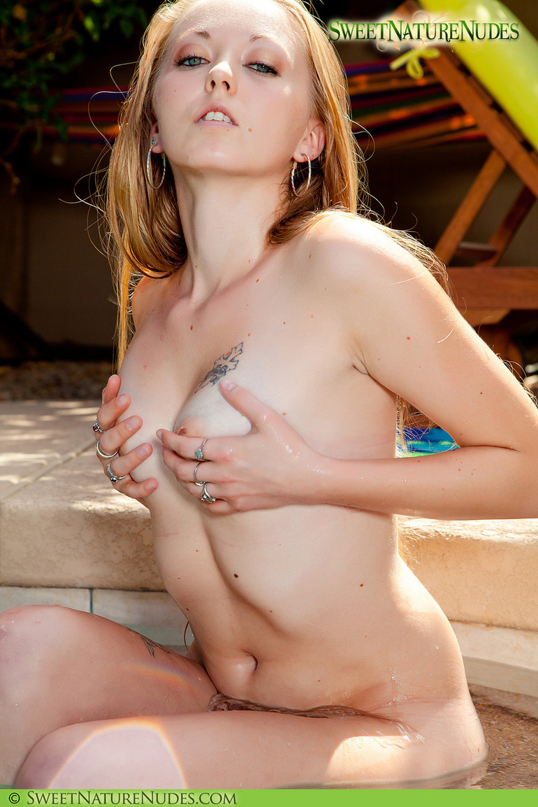 Naked woman tiny tits 12
