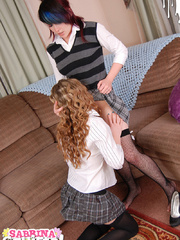 Nasty teen gets high having her slit licked - XXX Dessert - Picture 12