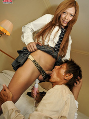 Hot Japanese college T-girl allows - Sexy Women in Lingerie - Picture 3
