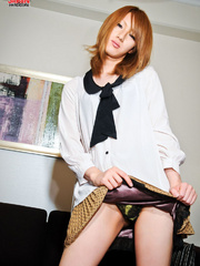Hot Japanese ladyboy in high boots - Sexy Women in Lingerie - Picture 4