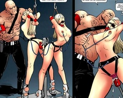 Thrilling cartoon gallery with lots of - BDSM Art Collection - Pic 1