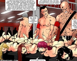 Thrilling cartoon gallery with lots of - BDSM Art Collection - Pic 2