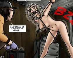 Dirty cartoon pics with kinky dude - BDSM Art Collection - Pic 5
