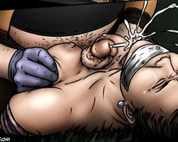 Dirty cartoon pervert banging badly - BDSM Art Collection - Pic 4