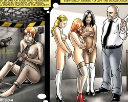Very cool cartoon pictures with kinky - BDSM Art Collection - Pic 3