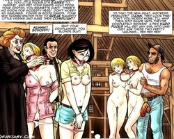 Very hot cartoon chicks get captured - BDSM Art Collection - Pic 2