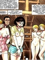Very hot cartoon chicks get captured and - Picture 2