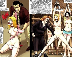 Very hot cartoon chicks get captured - BDSM Art Collection - Pic 3