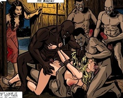 Thrilling toon pics with white slave - BDSM Art Collection - Pic 5