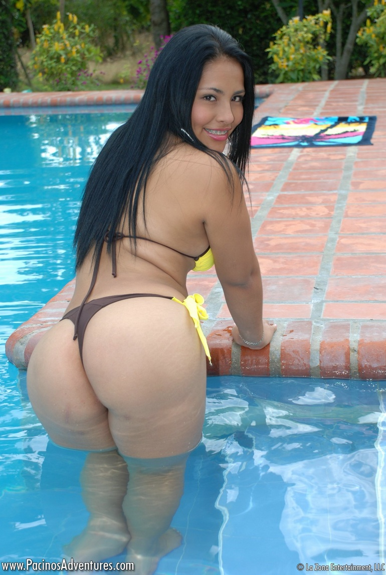 Read this hot latina in bikini video consider