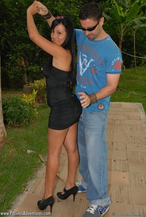 Very hot latina teen gets doggystyled before riding man's meat - XXXonXXX - Pic 5