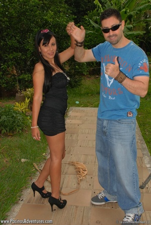Very hot latina teen gets doggystyled before riding man's meat - XXXonXXX - Pic 6