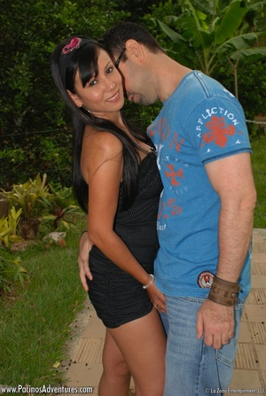Very hot latina teen gets doggystyled before riding man's meat - XXXonXXX - Pic 7