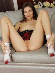 Nasty college girl in stockings was pounding her - XXXonXXX - Pic 6