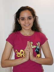 Cool Indian teen in pink T-shirt is ready to get - XXXonXXX - Pic 1
