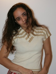 Cool Indian teen in pink T-shirt is ready to get - XXXonXXX - Pic 9