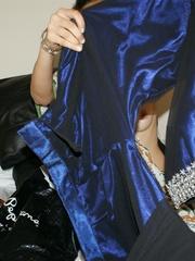 Ponytailed Indian chick Jasmine trying to put on - XXXonXXX - Pic 3