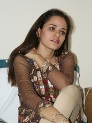 Nasty Indian teen girl undresses her purple - XXXonXXX - Pic 1