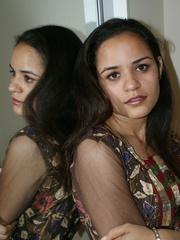 Nasty Indian teen girl undresses her purple - XXXonXXX - Pic 3
