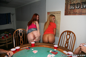 Ginger student girl gets her cunt pounde - XXX Dessert - Picture 1