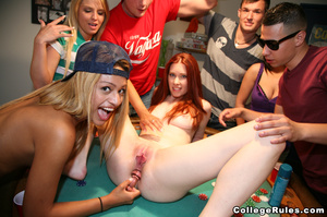 Ginger student girl gets her cunt pounde - XXX Dessert - Picture 3